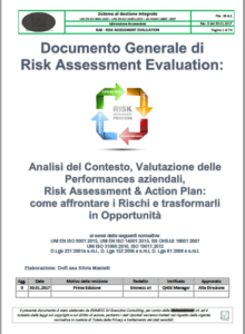 Risk Assesment Evaluation