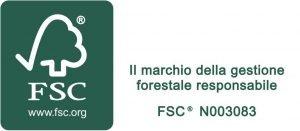 Certificato FSC Emmess